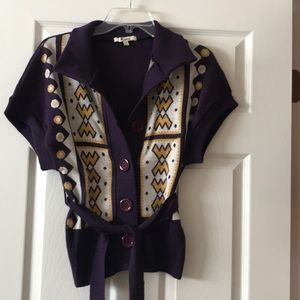 Sweaters - Funky retro cardigan